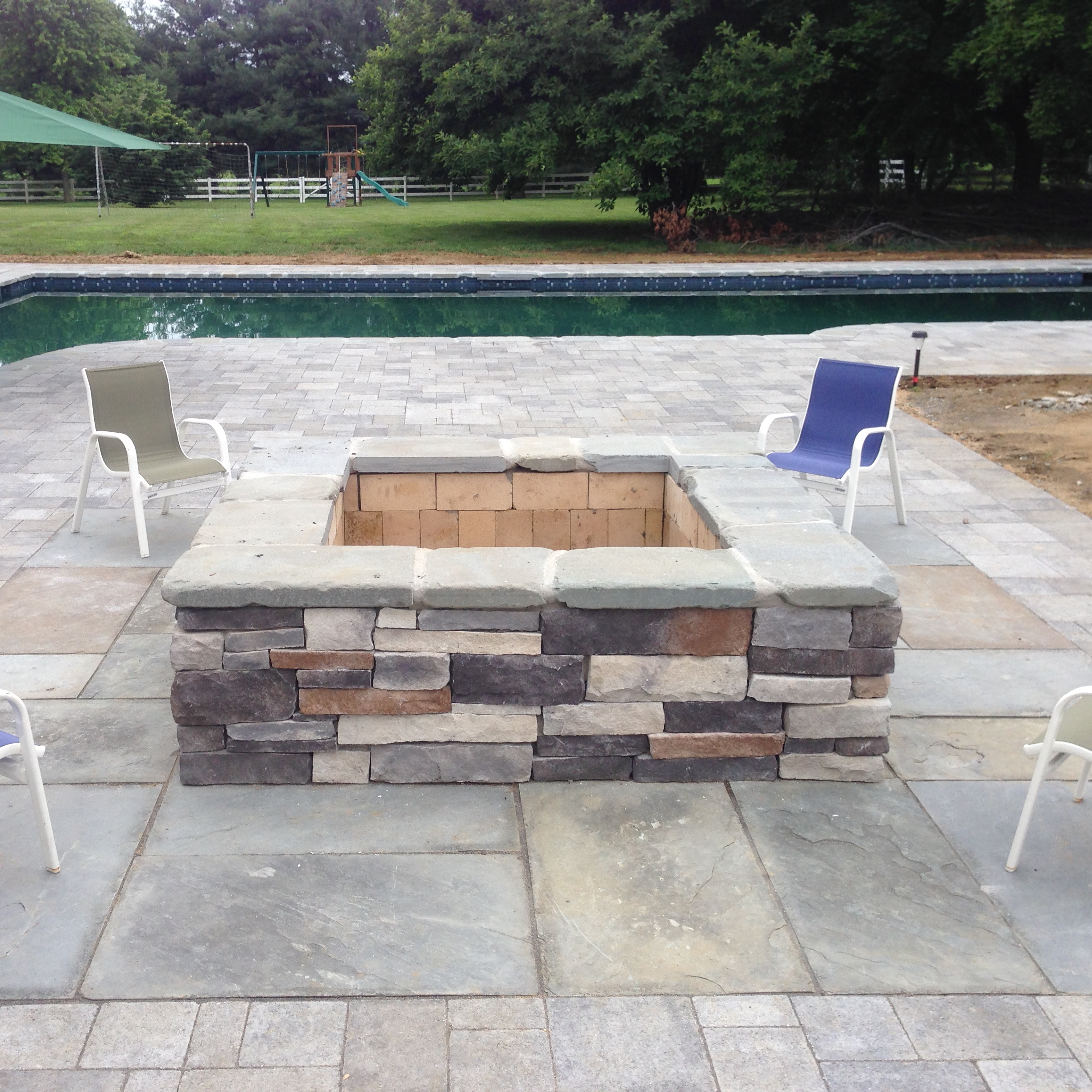The Square Firepit House