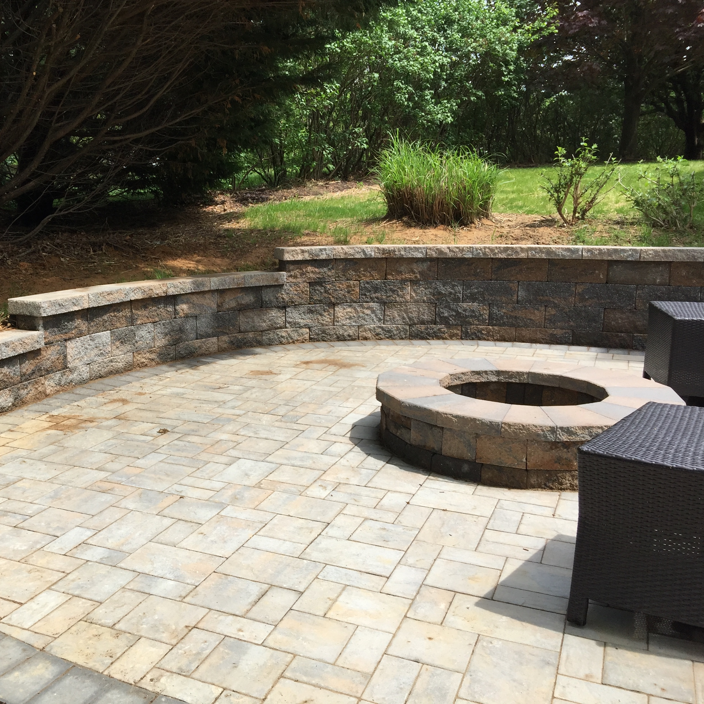 The Round Firepit House